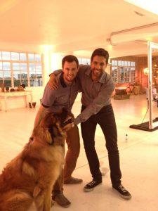 Paul meets Simba, winner of ITV's Top Dog