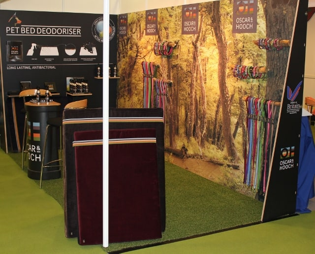 Oscar and Hooch Stall at PATS Sandown Park 2012
